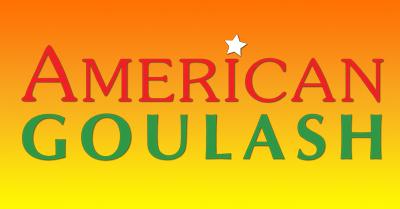 American Goulash book/series logo, www.AmericanGoulash.org